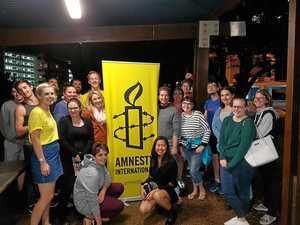 Activists rejoice for new Amnesty International branch