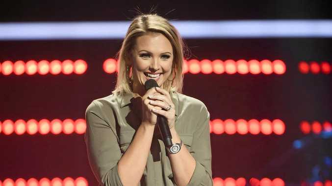 Brooke Schubert sings Celine Dion's Taking Chances in her The Voice audition.