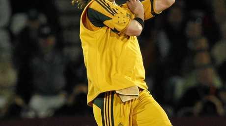 Former Australian fast bowler Nathan Bracken.