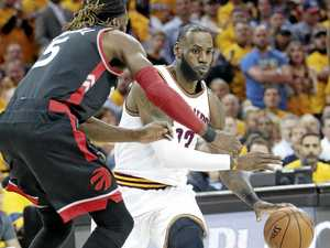 LeBron James is toast of the town