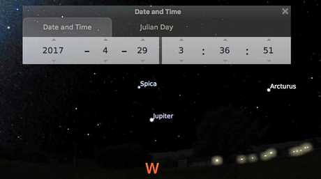EXPLAINED: Astronomer says residents who reported seeing a strange light in the sky over Ipswich were looking at Jupiter, the brightest planet at this time of year.