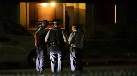 The five-year-old boy suffered a single gunshot wound.