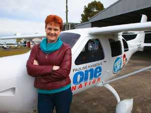 Pauline Hanson's plane story contradicted by leaked tapes