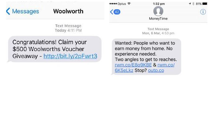 Scam texts impersonate major retailer | Sunshine Coast Daily