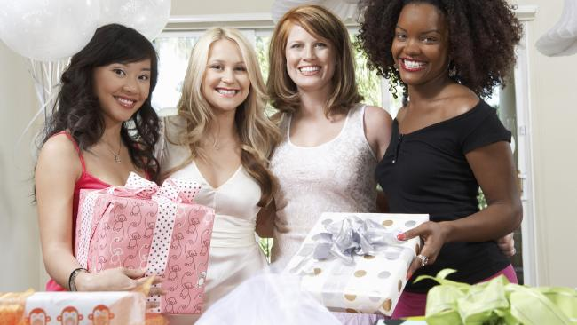 Weddings have become a shameless gift grab. Add in engagement parties, hens' nights and the rest of the palaver and you can really cash in on friends and family. (Pic: Supplied)