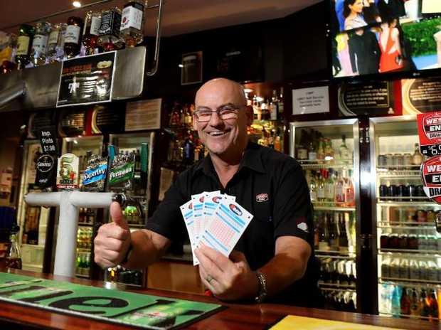 Proud Kingsford Hotel publican Tony Harnett. Picture: Dylan Coker
