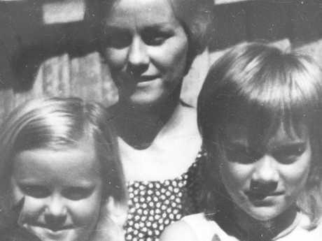 Barbara McCulkin and her daughters Vicki and Leanne. The family disappeared in 1974.