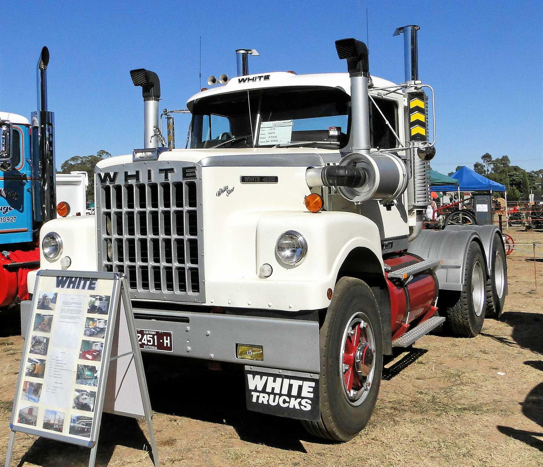 Don Hughes' fine White 4000.