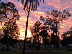 Today in Gympie: fine with a chance of rain