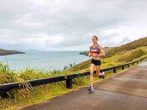 Clark and Pinkstone take Hilly Half Marathon on Dent Island