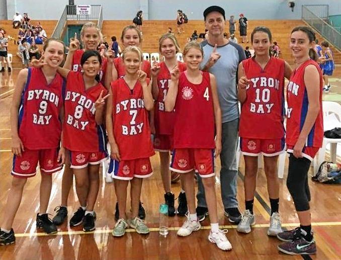 North Coast Shield U14 Girls' Team Two.