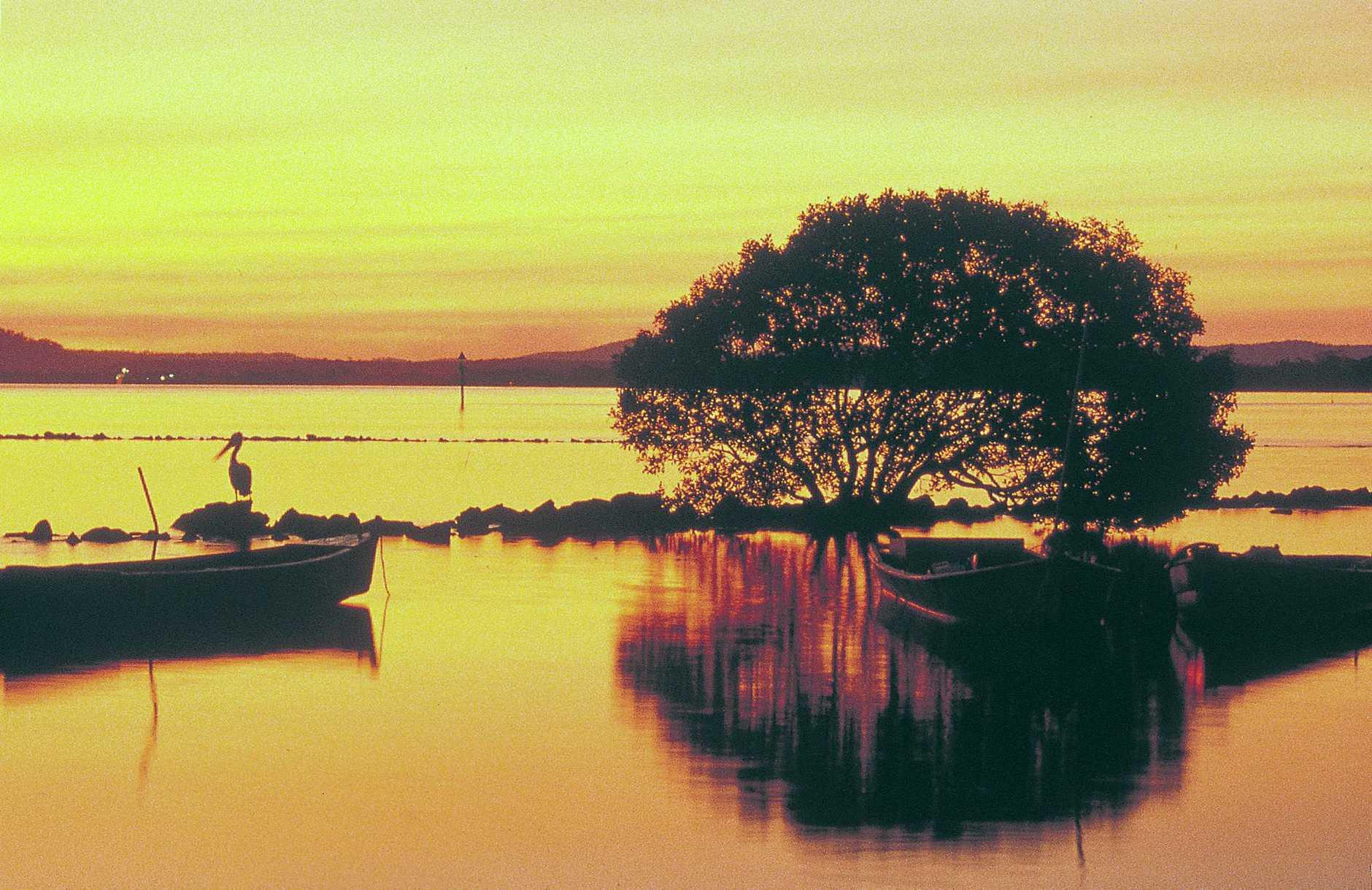 A glorious autumn sunset at Iluka.