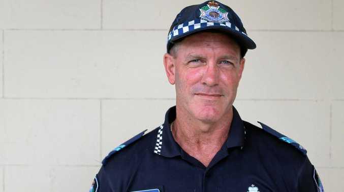 Mackay District Crime Prevention Senior Constable Steve Smith.