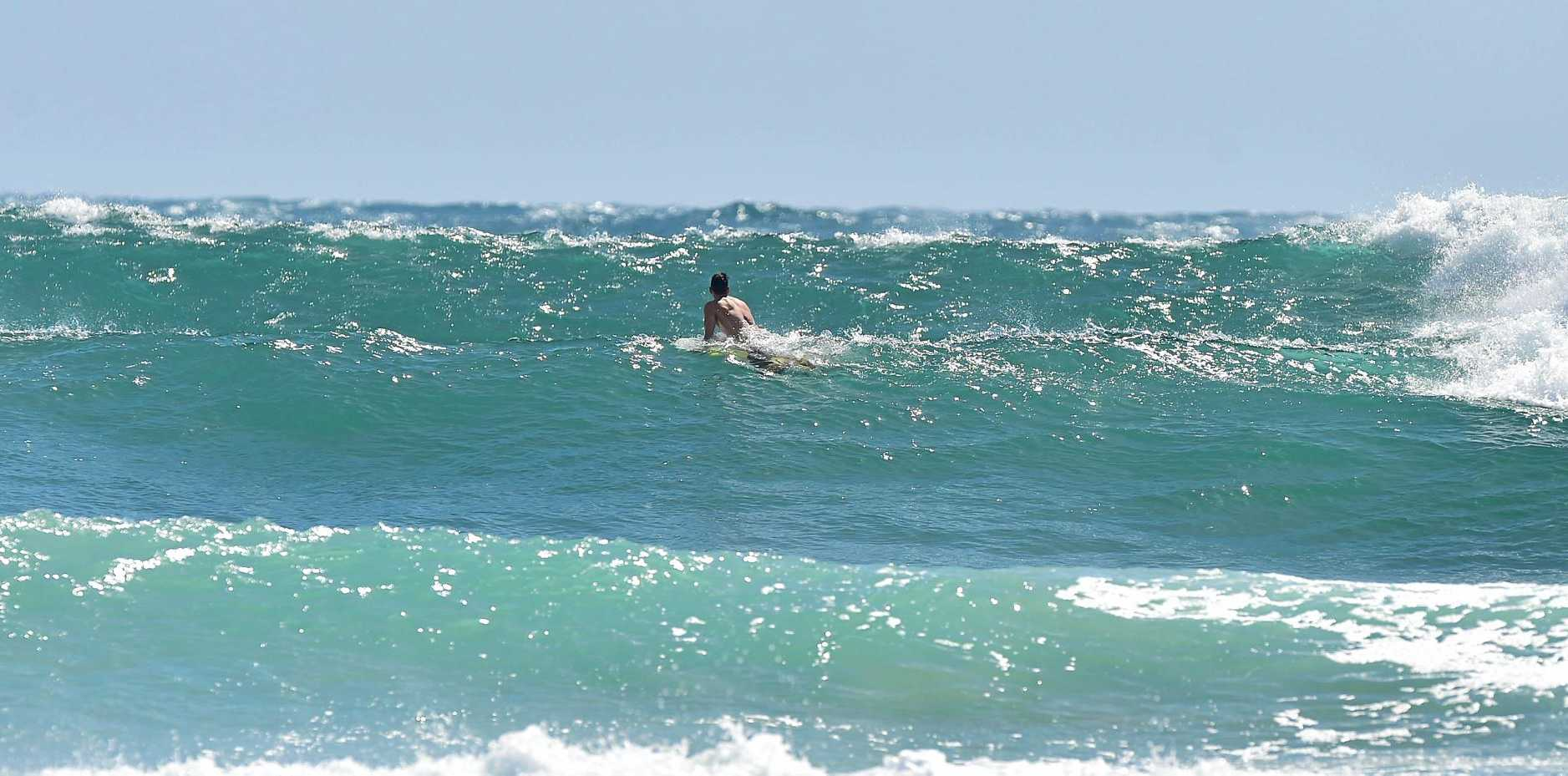 HUGE surf is predicted to be on the way for the Sunshine Coast with the potential for huge conditions next week. Photo: Che Chapman / Sunshine Coast Daily