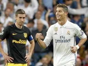 Ronaldo destroys Atletico with semi-final hat-trick
