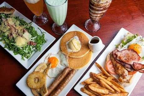 CAN'T WAIT: Some of the delicious menu items available at Pancake Manor.