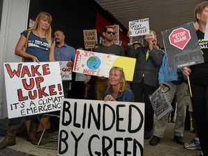 Getting the government 'out of bed with Adani'