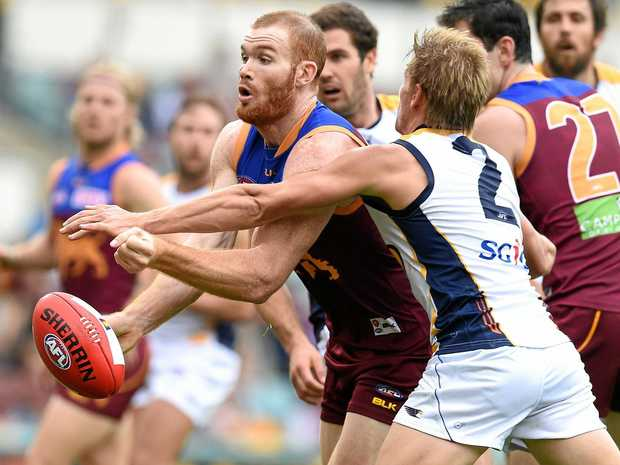 BIG RECRUIT: Daniel Merrett, who starred for  the Brisbane Lions, is set to play for Caloundra.