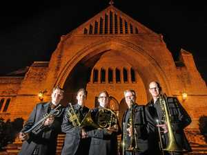 Brass group brings musical message to Grafton