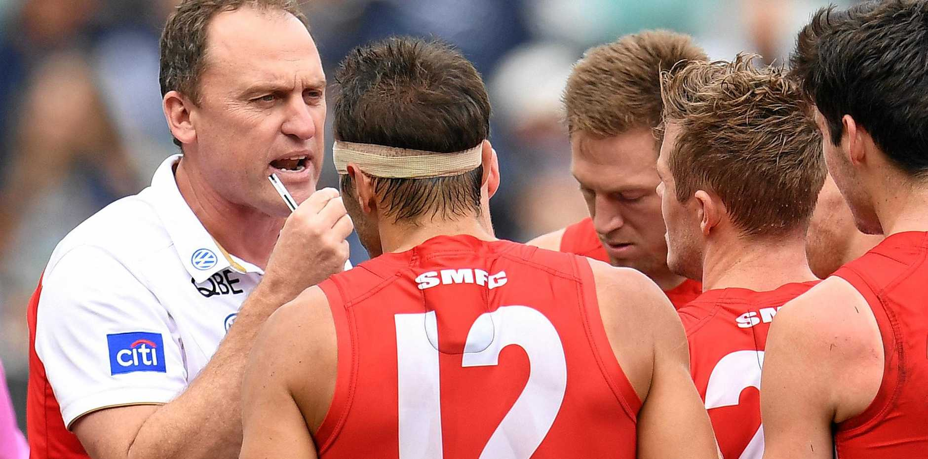 Sydney Swans coach John Longmire has called on his players to rediscover their ruthless edge.