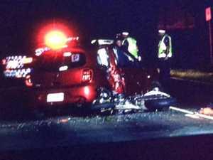 UPDATE: Motorbike rider in crash unlicensed, unroadworthy