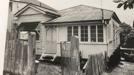 The Highgate Hill house where Barbara, Leanne and Vicki McCulkin lived before they disappeared in January of 1974.
