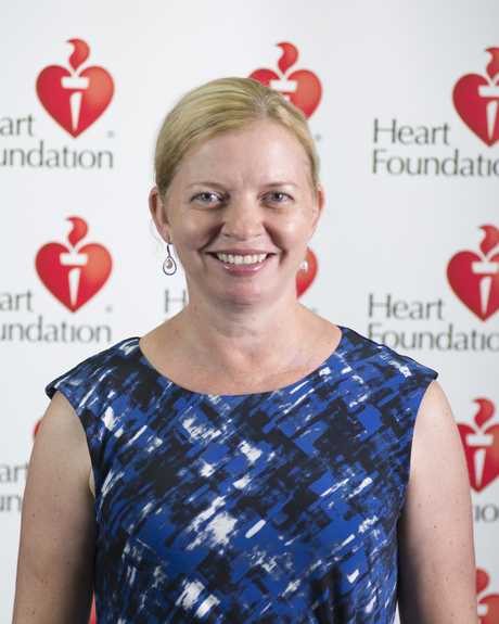 Heart Foundation Health Director, Rachelle Foreman.