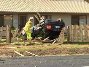 UPDATE: Family tells of moment car smashed into their fence