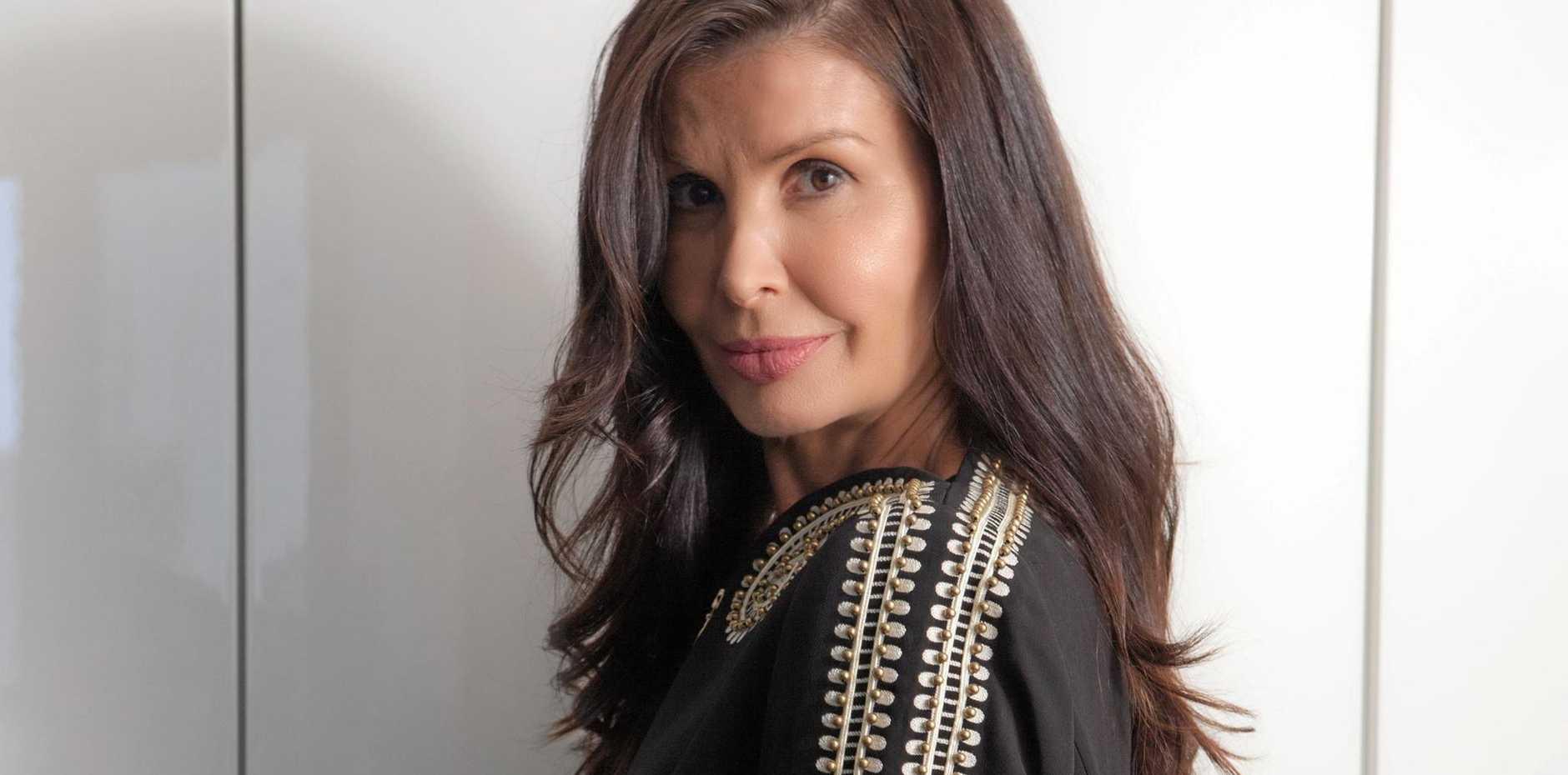 WINTER FASHION: Melbourne fashion blogger Violet Ballato.