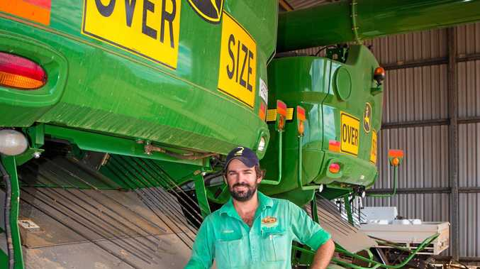 UNREALISTIC: Jordan Anderson is fighting for new regulations on moving oversize agricultural machinery.