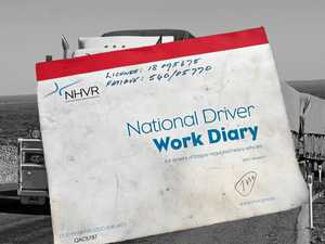 Truckies work diaries and 'draconian penalties' under fire