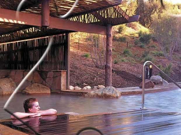 RELAX ON THE ROAD: Spa trekking is the newest and one of the best travel fads around.