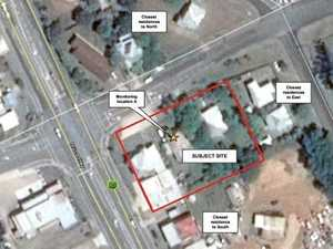 Petrol station proposed for Pine St intersection