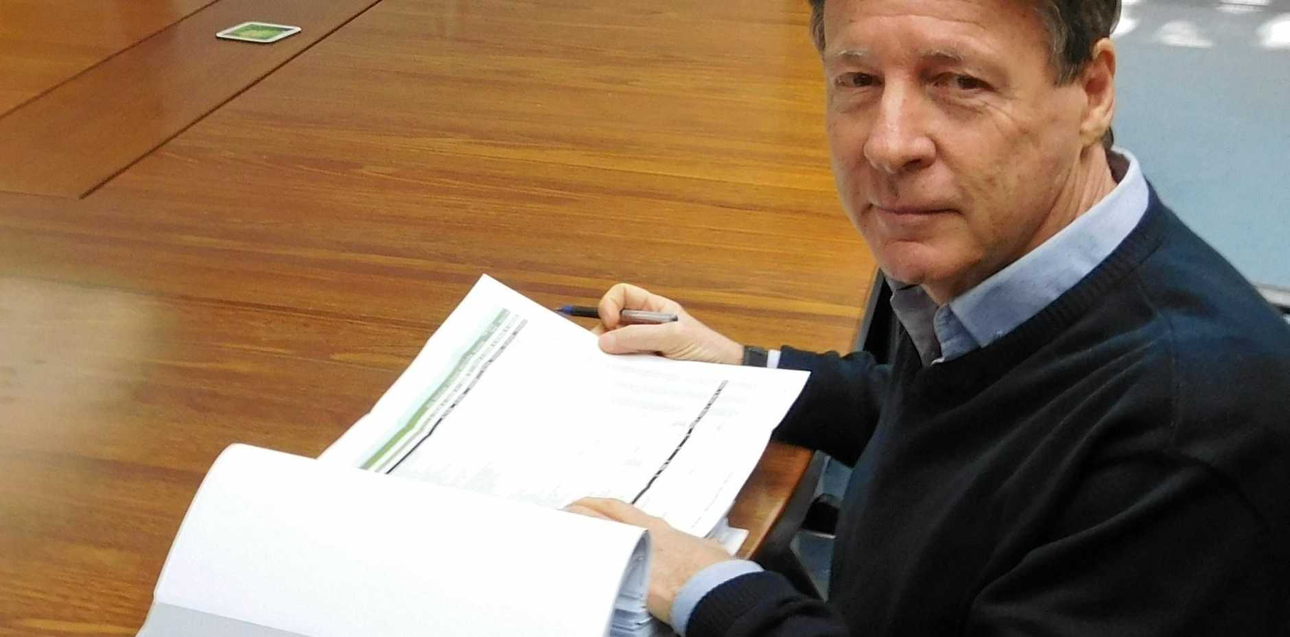 WAITING: Mayor Tony Wellington is trying to find out the result of a police examination of a complaint made to the CCC.