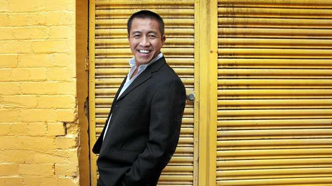 FUNNY MAN: Comedian, author and painter Ahn Do is bringing a show to Lennox Head.