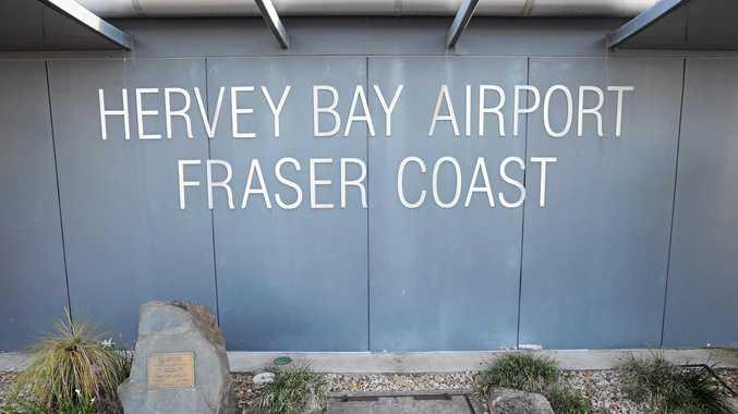 Hervey Bay airport.  Photo: Alistair Brightman / Fraser Coast Chronicle