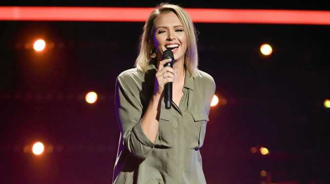 SECOND HOME: The Voice's Brooke Schubert said Gympie is always close at heart.