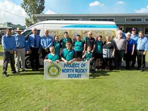 Rotary revs up North Rockhampton Special School