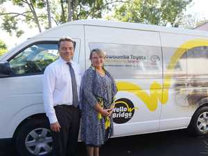 Wheels on Toowoomba disability bus continue to turn