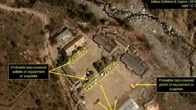 Activity resumes at North Korea's nuclear site. Picture: 38 NorthSource:Supplied
