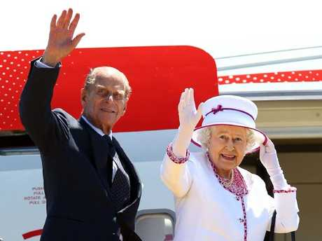 Queen Elizabeth II marked her 91st birthday last month and Prince Philip turns 96 in June. Picture: AFPSource:News Limited