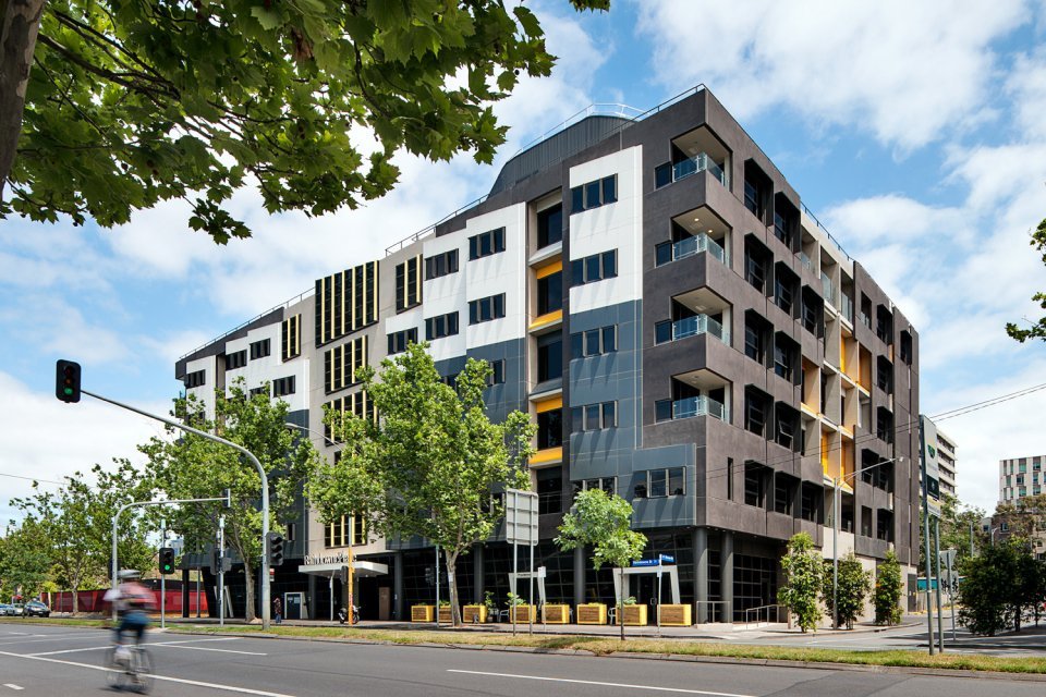 RETIREMENT LIVING: going up is one of the options already being used in Australian cities.