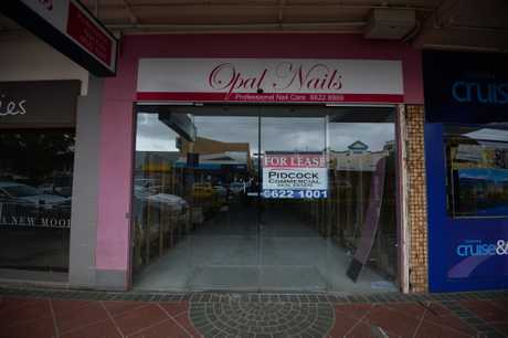 Opal Nails in Lismore after the flood.
