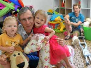 Grandpa steps up for kids of crash victim daughter