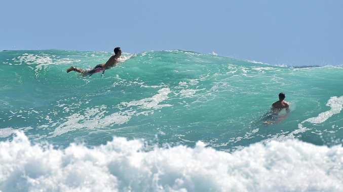 SWELL: Big surf is on the way for the Sunshine and Cooloola Coast.