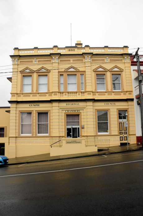 The Gympie Regional Council office in Mary Street, formerly the Bank Of New South Wales, has been earmarked to go on the Queensland Heritage Register. Photo The Gympie Times