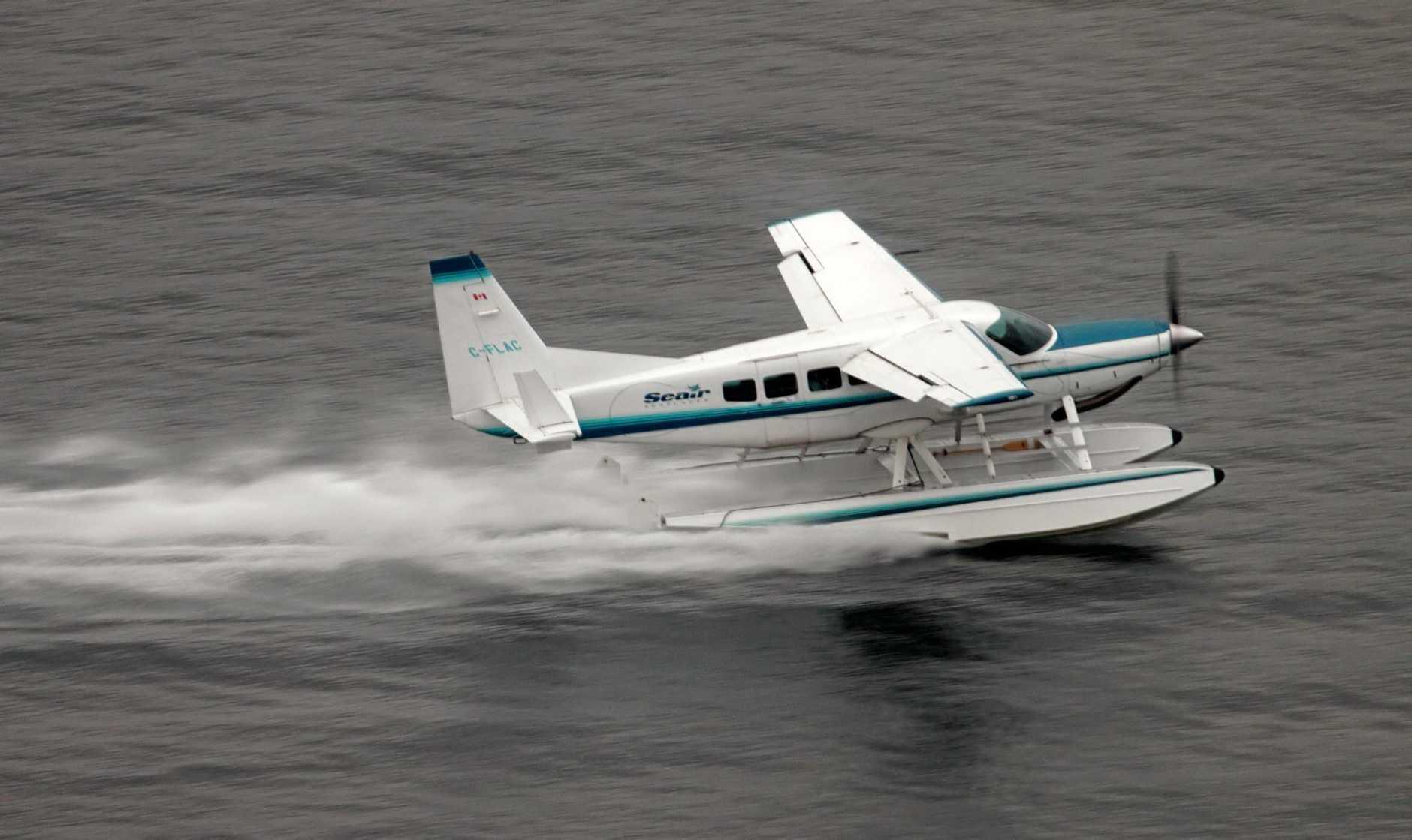 A Cessna 208 Seaplane, similar to the plane which crashed on Hamilton Island.