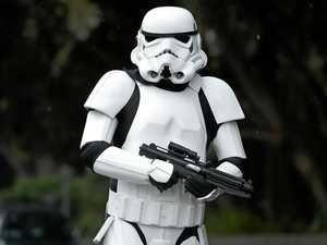Stormtrooper clears high school