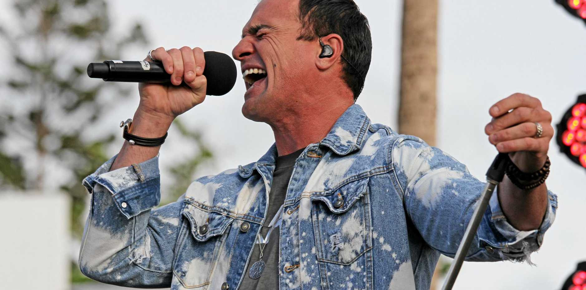 Mid North Coast police are investigating the firecracker throwing incident during the South West Rocks concert that injured one of Shannon Noll's band members.