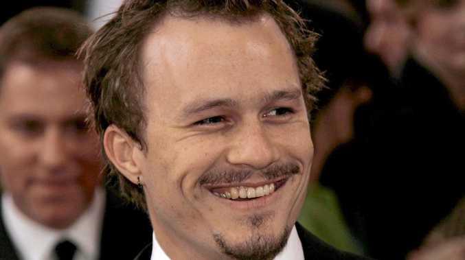 Actor Heath Ledger.
